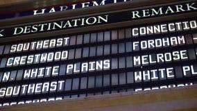 Esta??o de trem de Grand Central vídeos de arquivo