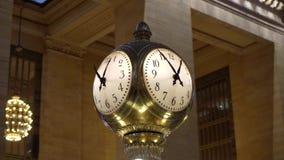Esta??o de trem de Grand Central video estoque