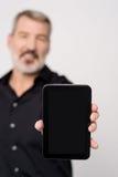 ¡Esta tableta viene con la oferta para la venta exclusiva! foto de archivo libre de regalías