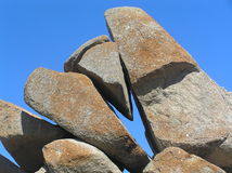 Estabilidad de la roca imagen de archivo libre de regalías