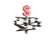 Estabilidade do dólar Foto de Stock