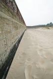 Estabilización de la línea de la playa en Prora Fotografía de archivo libre de regalías