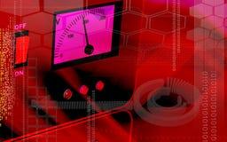 Estabilizador eléctrico Imagen de archivo libre de regalías