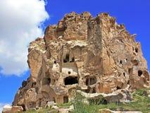 Establecimiento de la cueva en Cappadocia Foto de archivo libre de regalías