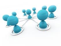 Establecimiento de una red Imágenes de archivo libres de regalías