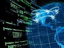 Establecimiento de una red de los E.E.U.U. Imagen de archivo