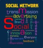 Establecimiento de una red social Imágenes de archivo libres de regalías