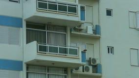 Establecimiento del tiro de la fachada de la construcción de viviendas Préstamo de hipoteca en bienes inmuebles metrajes