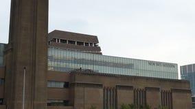 Establecimiento del tiro de nueva Tate Modern en Londres almacen de metraje de vídeo