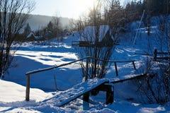 Establecimiento en Siberia Fotos de archivo