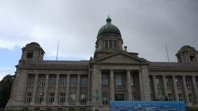 Hamburg supreme court. Establishing shot of Hamburg`s supreme court located at the Sievekingplatz square stock video