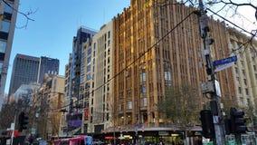 Establishing Shot - Melbourne City stock video footage