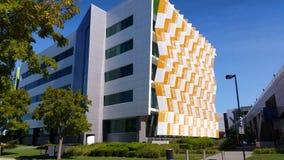Establishing shot modern architecture building stock video footage
