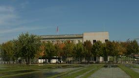 Swiss embassy in Berlin. Establishing shot of the Swiss embassy in Berlin, located next to the German chancellery stock video footage
