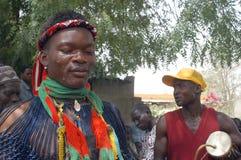 Establishment of a usual chief in Burkina Faso Stock Image