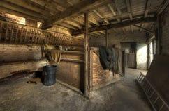 Establo tradicional, Inglaterra. Fotografía de archivo