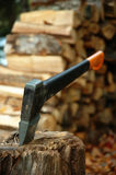 Estaca da madeira serrada Imagem de Stock