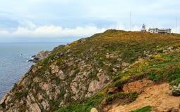Estaca de Bares Lighthouse Ισπανία στοκ εικόνες