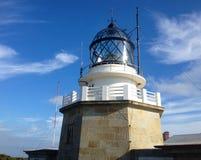 Estaca de Bares Lighthouse στην επαρχία ενός Coruna, Γαλικία, βόρεια Ισπανία στοκ εικόνες με δικαίωμα ελεύθερης χρήσης