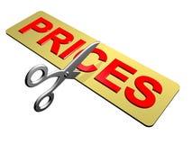 Estaca de preço Fotografia de Stock