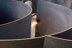 Estaca do metal Fotos de Stock