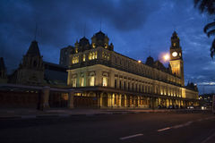 Estacao da Luz, Sao Paulo Royalty Free Stock Image