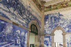 ESTACAO DE SAO BENTO, OPORTO, PORTUGAL Fotografía de archivo