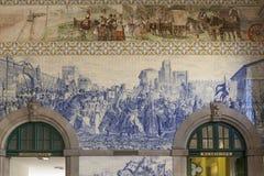 ESTACAO DE SAO BENTO, PORTO, PORTUGAL Stock Photography