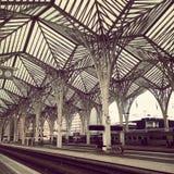 Estacao Gare hace Oriente Fotos de archivo