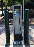 Estación de carga del coche eléctrico en la celebración la Florida Estados Unidos los E fotos de archivo libres de regalías