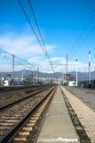Estación abandonada Imagenes de archivo