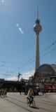 Estación Alexanderplatz de Berlín Foto de archivo