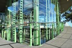 Estación base de un teleférico Fotos de archivo libres de regalías