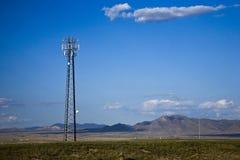 Estación base del teléfono móvil Fotos de archivo libres de regalías