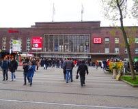 Estación central, Düsseldorf foto de archivo libre de regalías