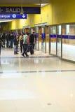 Estación central de Metropolitano en Lima, Perú Imagen de archivo libre de regalías