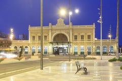 Estación central en Cartagena, España Fotos de archivo