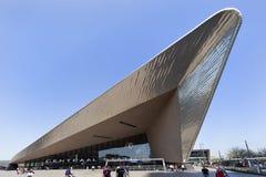 Estación central en Rotterdam Fotografía de archivo libre de regalías