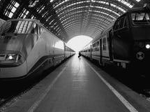 Estación central ferroviaria, Milano fotos de archivo libres de regalías