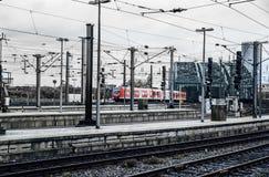 Estación central. Koln, Alemania Imagenes de archivo