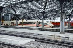 Estación central. Koln, Alemania Imagen de archivo libre de regalías