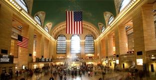 Estación central magnífica Fotografía de archivo libre de regalías