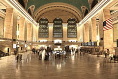 Estación central magnífica imagen de archivo libre de regalías