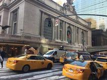 Estación central magnífica de Nueva York Foto de archivo