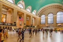 Estación central magnífica en New York City Foto de archivo libre de regalías