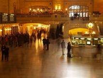 estación central magnífica en NYC   foto de archivo libre de regalías