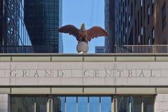 Estación central magnífica New York City Imagenes de archivo