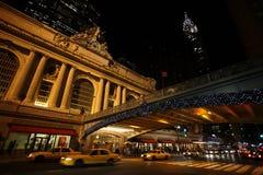Estación central magnífica Nueva York Imágenes de archivo libres de regalías