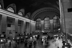 Estación central magnífica Nueva York Fotos de archivo libres de regalías