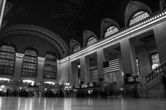 Estación central magnífica Nueva York Imagen de archivo libre de regalías